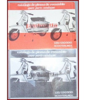 LIBRO DESPIECE LAMBRETTA SCOOTERLINEA