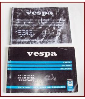 LIBRO DE DESPIECE VESPA PK XL