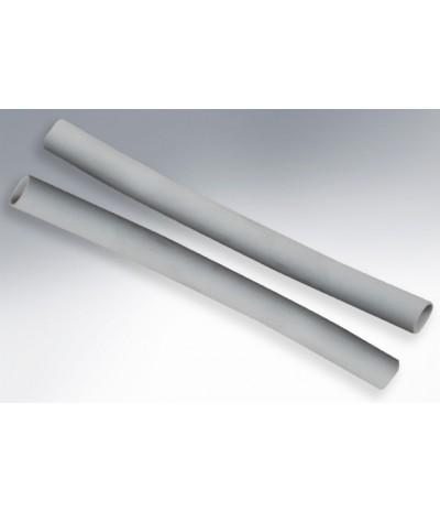 Macarrón para cables de color gris