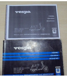 Libro de taller Vespa CL y DS
