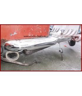 Adornos estriberas Lambretta LI 2 acero inox