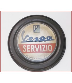 Chapa decorativa Vespa